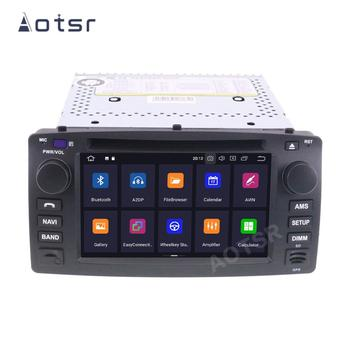 AOTSR 2 Din Car Radio Coche Android 10 For Toyota Corolla E120 BYD F3 Central Multimedia Player GPS Navigation 2Din Autoradio image