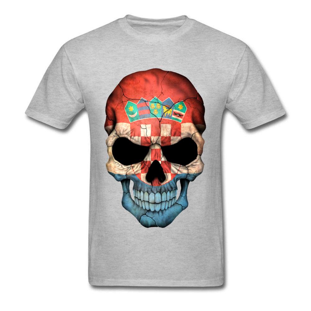 Croatian Flag Skull_grey