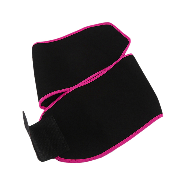 Adjustable Waist Support Waist Trimmer Belt Weight Loss Sweat Band Wrap Fats Tummy Stomach Sauna Sweat Belt For Walking Jogging- 4