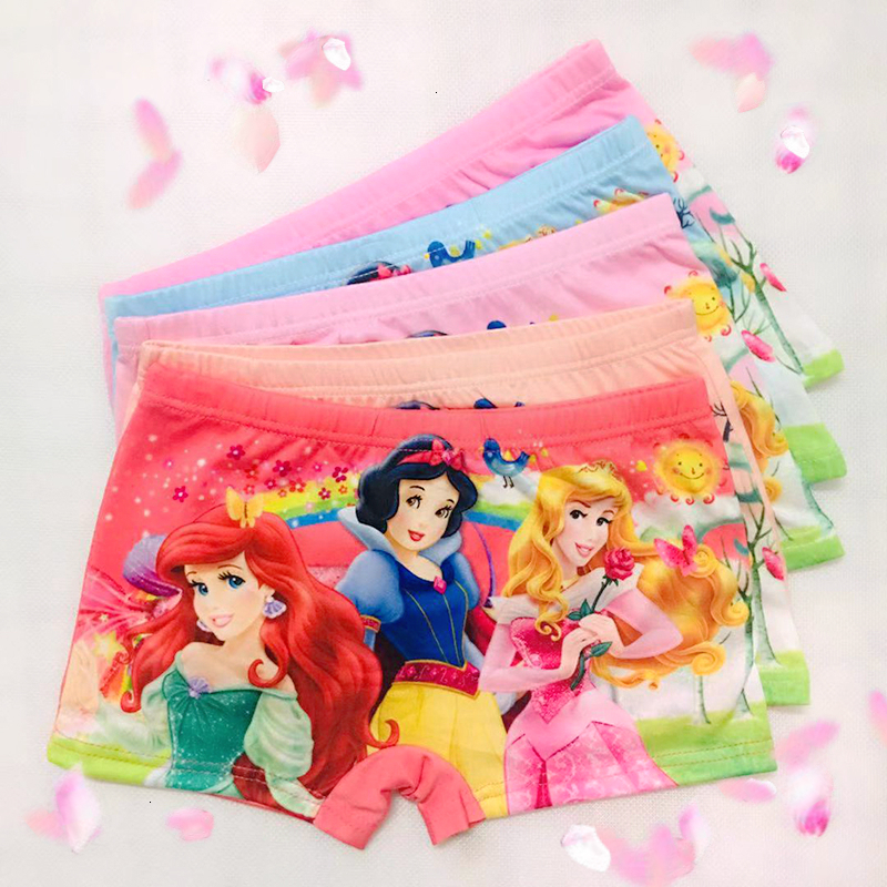 5pcs/lot Cartoon Boy Children Underpants Briefs Underwears Girls Panties Infant Boxer Panty Kids Baby Boys Girl Underwear 2-8T