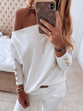 2019 Autumn Women Elegant Basic Casual Top Female Leisure OL Long Sleeve Brief Shirt Solid Off Shoulder Buttoned Blouse цена 2017
