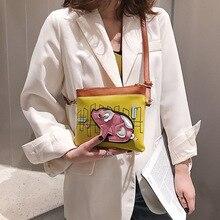 2019 nowy lato fala koreańska wersja moda Mini pojedynczy torba na ramię ukośne rozpiętość torba