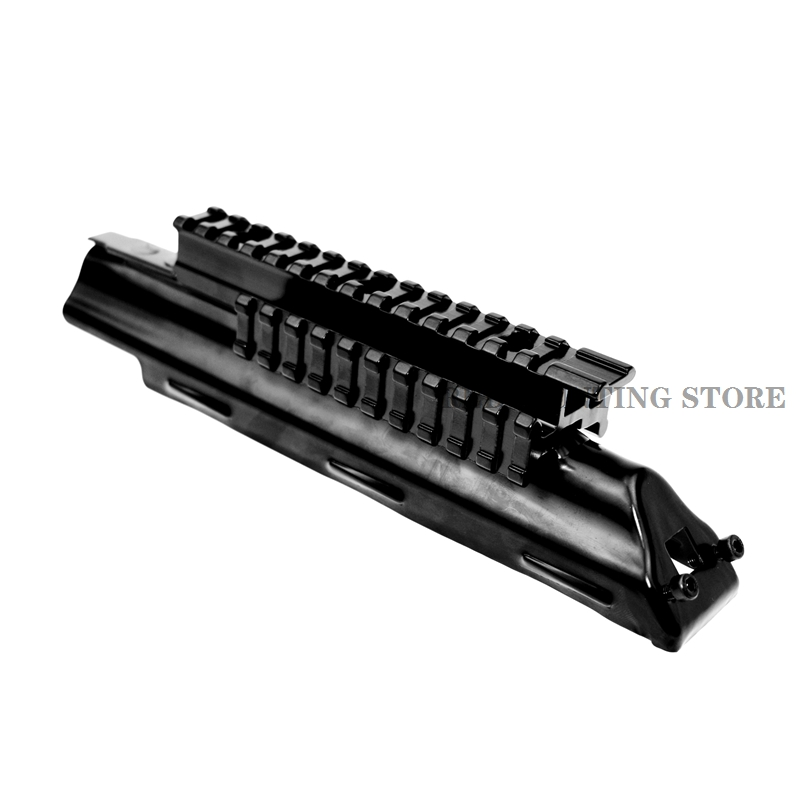 AK 47 Handguard Quad Rail System Receiver Scope Mount Top Cover 47 AK Series Scope Mount Accessories(China)