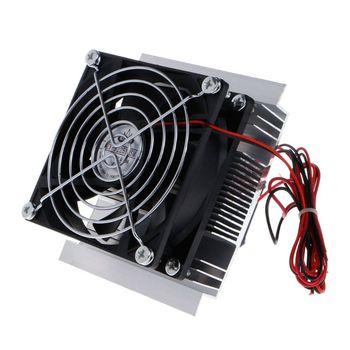 12V refrigerador termoeléctrico refrigeración Semiconductor de refrigeración Sy madre Kit DE VENTILADOR set de acabado componentes de la computadora