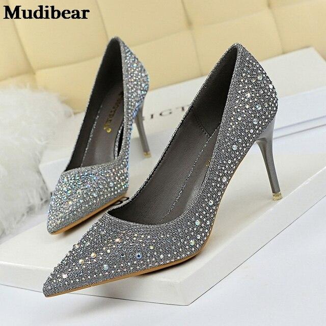 Купить mudibear/2020 для женщин женские туфли лодочки на очень высоких картинки цена