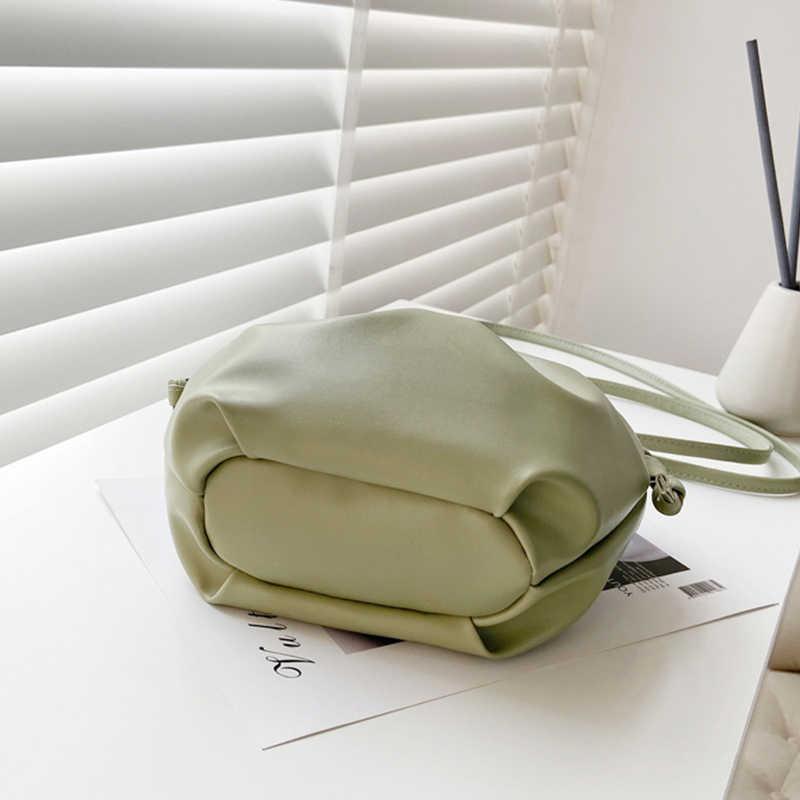 Bolsa transversal, luxuosa, feminina, em couro pu, bolsa de ombro, pequena, bolsa de mão