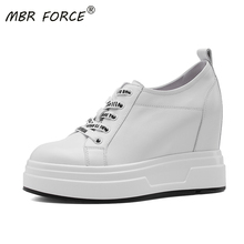 MBR FORCE New Fashion Spring Trend Women Chunky White Shoes