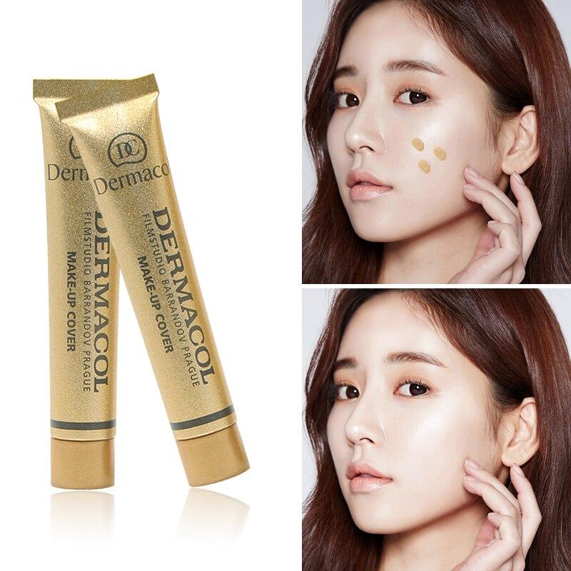 Concealer Base Foundation Makeup Moisturizing Beauty Full-Skin Black Facial-Blemish Eye-14color