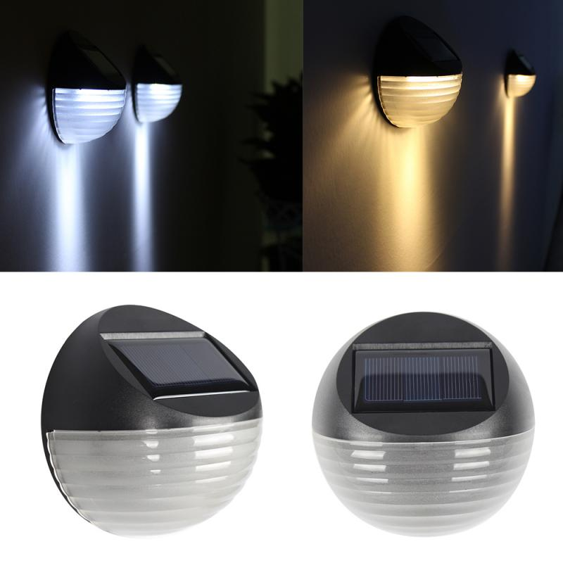 Solar Light LED Outdoor Garden Landscape Light Waterproof Courtyard Wall Light Step Light