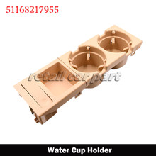 Console central do carro suporte de copo de água bebida garrafa titular moeda bandeja para bmw série 3 e46 323i 318i 320i 98-06 51168217955