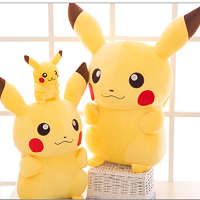 NEW TAKARA TOMY Pokemon Pikachu Plush Toys Stuffed Toys Japan Movie Pikachu Anime Dolls Christmas Birthday Gifts for Kids 5