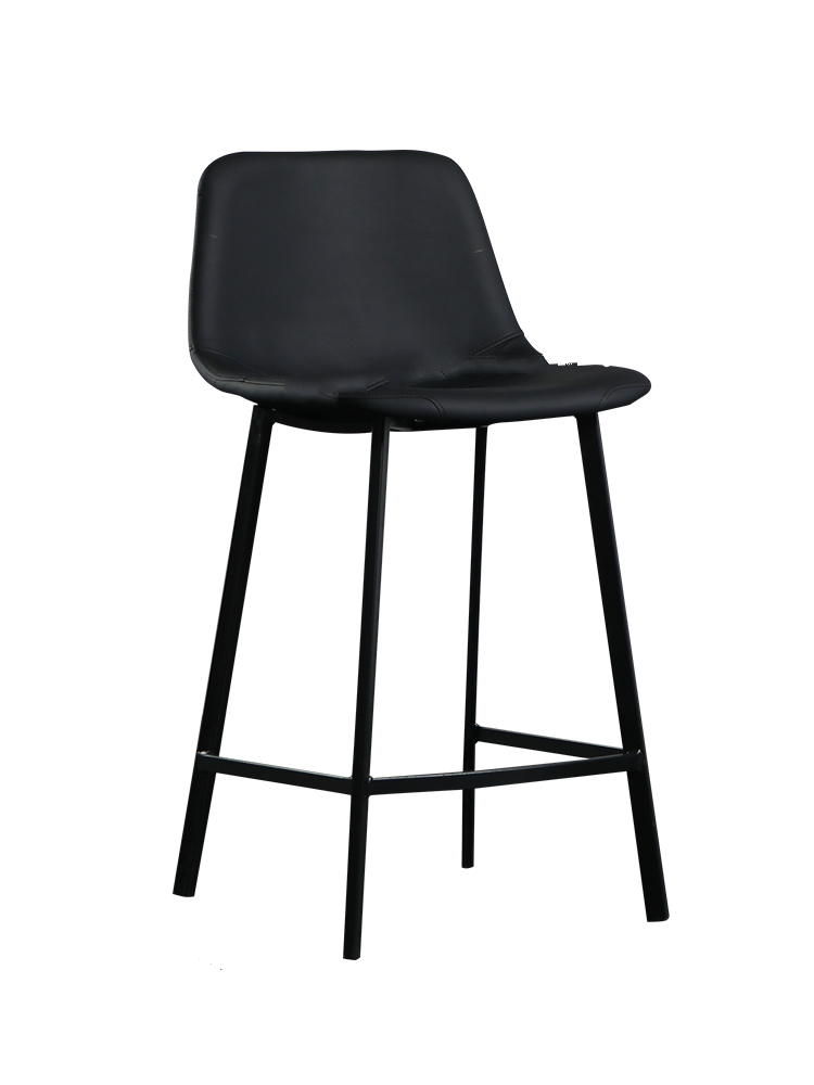 Nordic Bar Stool Modern Minimalist High Stool Bar Chair Home Chair Back Bar Chair