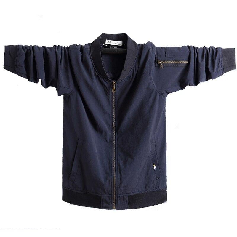 Military Pilot Jackets Men Winter Autumn 2020 Bomber Big Size 7xl  Coat Tactical Green Jacket Male Casual Air Flight JacketJackets   -