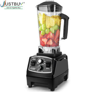 Juicer Mixer Timer-Blender Ice-Crusher Food-Processor Smoothies Commercial-Grade Heavy-Duty