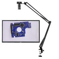 48MP 1080P 2K HDMI USB TF grabadora de vídeo Industrial laboratorio de cámara de Video de microscopio gran campo Visual Manual IRIS lente de Zoom.