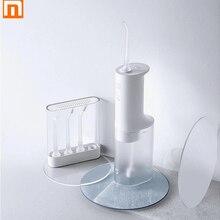 Xiaomi Mijia-irrigador Oral eléctrico para el cuidado Dental, hilo Dental de 200ml de capacidad, IPX7 resistente al agua, con 4 niveles de engranaje