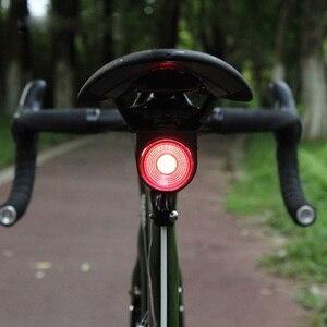 Image 3 - Антивор для дорожного велосипеда ANTUSI, автоматический тормозной сигнал, задний фонарь, дистанционное управление, беспроводной звонок для горного велосипеда