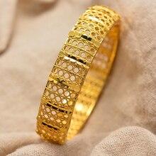 זהב צבע אתיופיה דובאי ערבית אללה צמיד צמידים לנשים כווית לוב צמידי עומאן ישראל חתונה תכשיטי אפריקאי מתנות