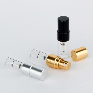 Image 4 - 50 pieces/lot 2ml empty perfume bottle Aluminum Spray Atomizer Portable Travel Cosmetic Container Scale Bottles