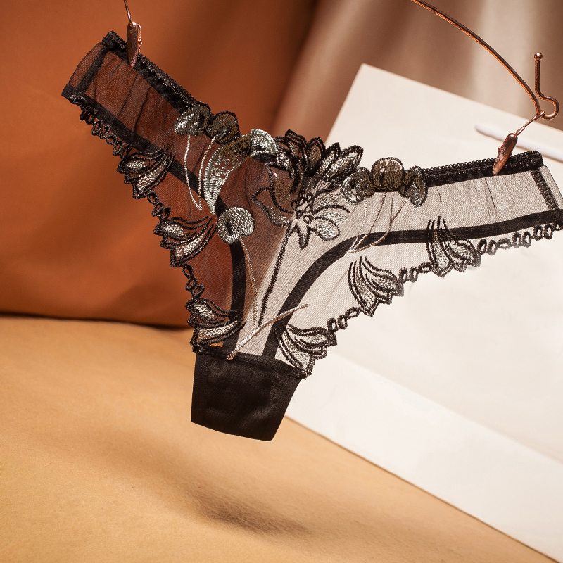 Sexy Lace Panties - Women Sexy Lingerie Cheeky cute Strappy panties erotic floral lace  transparent underwear porn flirty G-string thong - Buy cheap in an online  store with delivery: price comparison, specifications, photos and customer  reviews