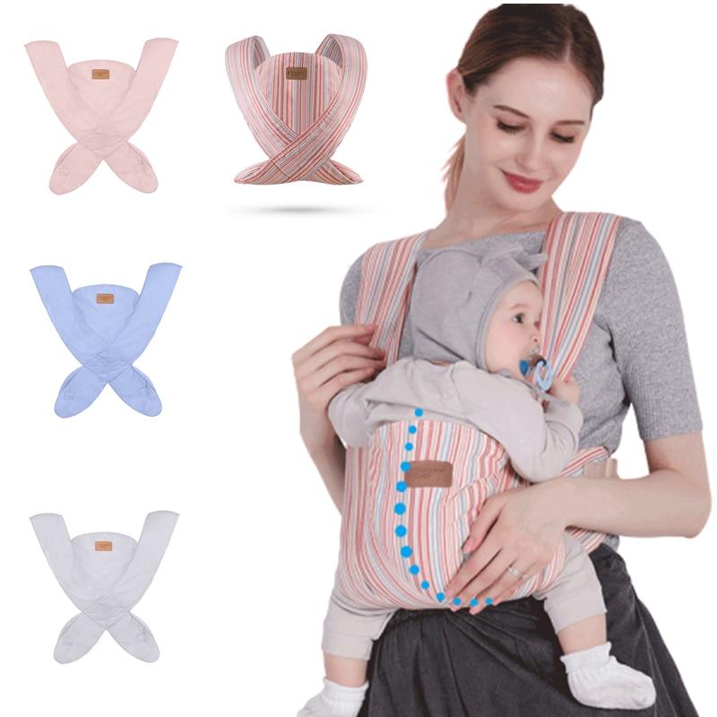 Newborn Baby Carrier  Ergonomic Sling Baby Backpack  Kangaroo  Portabebe Carrier  Infant Hipseat  Toddler Wrap For Baby Travel