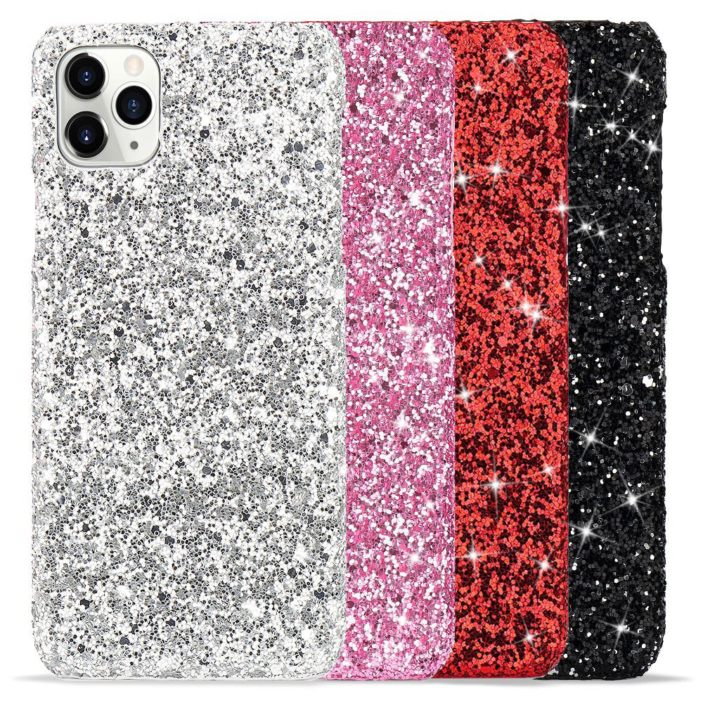 Slim Bing Diamond Glitter Phone Case for Iphone 11 12 Pro XS X Xr Max Phone Back Cover for Iphone SE 2020 8 7 6 6s Plus Coque