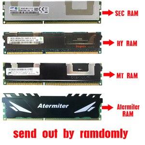 Image 4 - HUANANZHI זהב X79 האם LGA2011 שילובי E5 1650 C2 4pcs x 4GB = 16GB 1600Mhz PCI E NVME M.2 SSD USB3.0 חום כיור