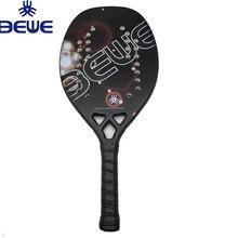 Абсолютно новая пляжная Теннисная ракетка BEWE графит 3K из углеродного волокна