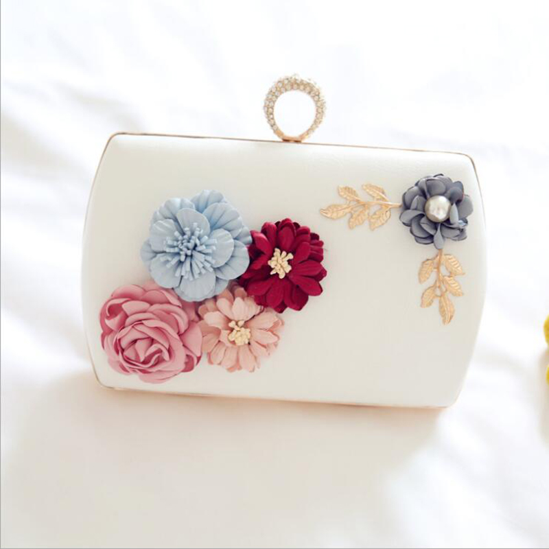 Fashion New Women Evening Clutch Bags PU Chain Shoulder Handbags Ladies Evening Purse Wedding Messenger Bags