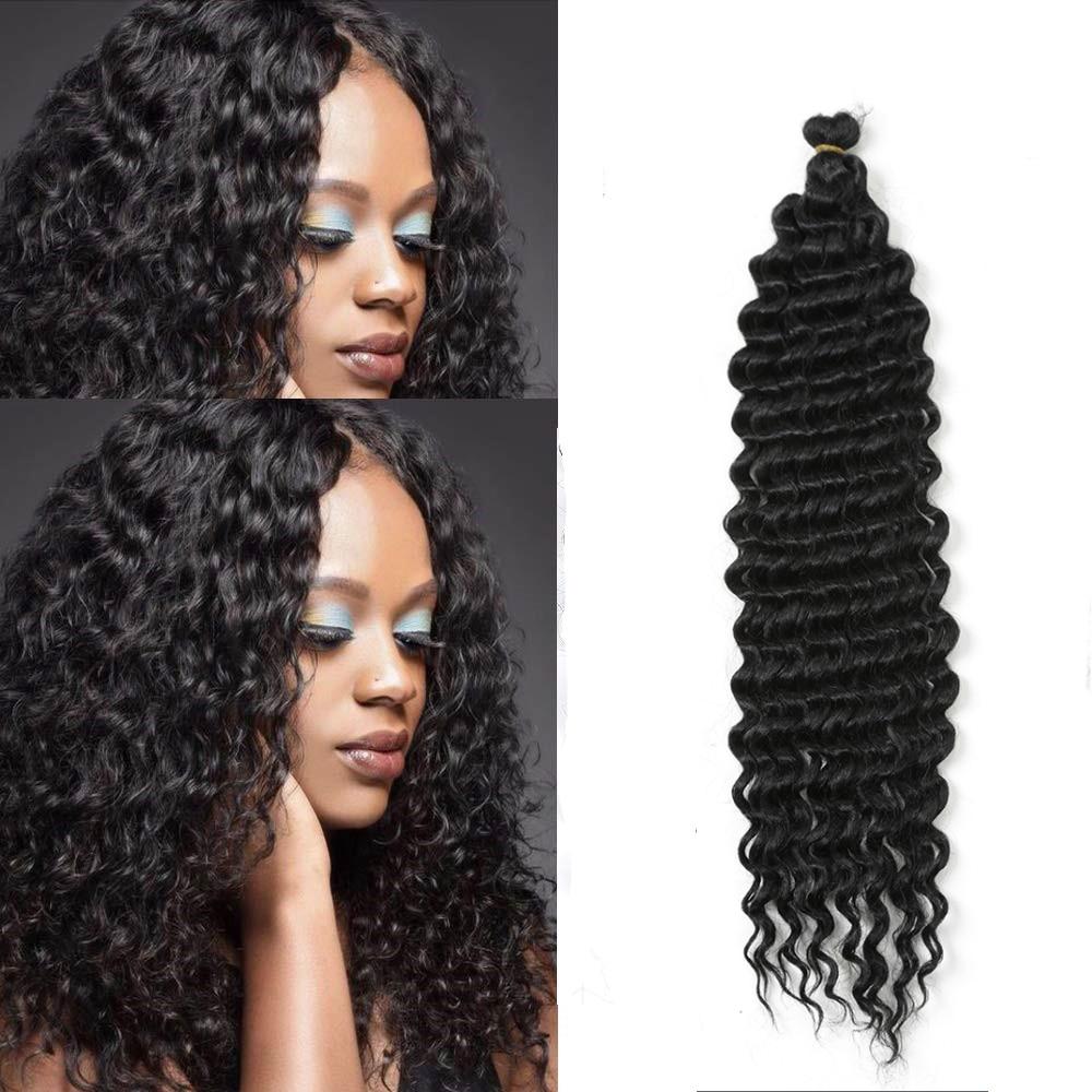 22-дюймовые длинные глубокие твист вязаные волосы Freetress волнистые волосы синтетические плетеные волосы для наращивания для черных женщин Hair...