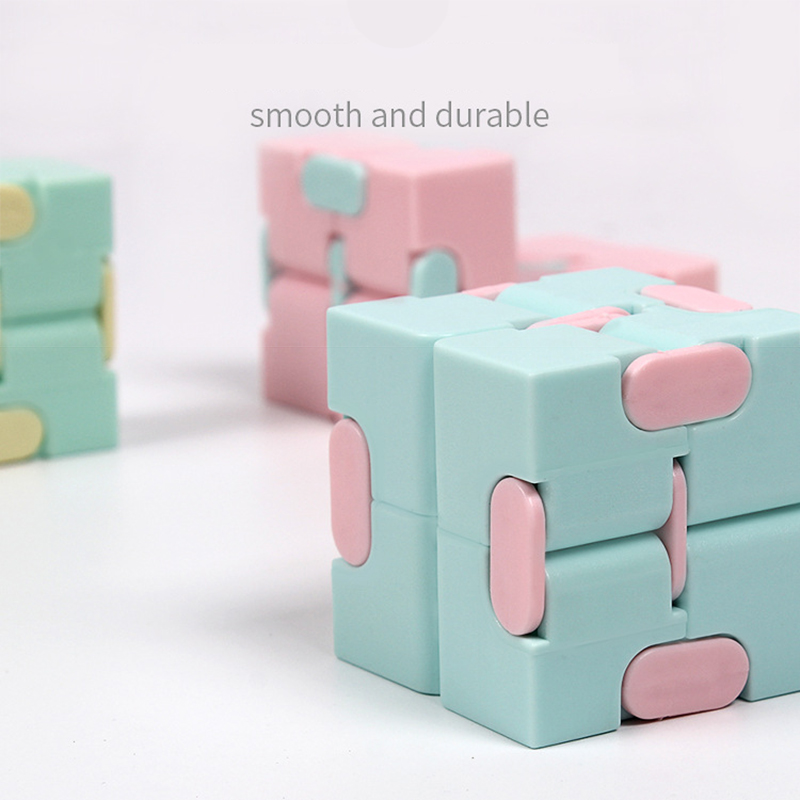 Puzzle Toy Maze-Toy Magic Cube Stress Fingertips Infinity Game Square Four-Corner Funny img2