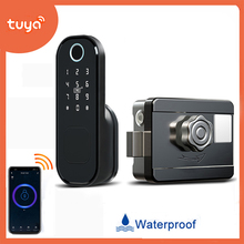 Smart-Lock Tuya Door Digital Waterproof Hotel Security Password for Home Fechadura