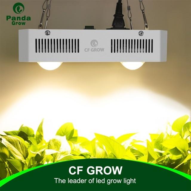 Led cresce a luz cidadão CLU048 1212 cob 300w 600 900 espectro completo de efeito estufa hidroponia planta crescente luz substituir lâmpada hps
