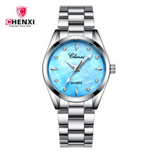 New Female Business Luxury Women Quartz Watches Waterproof Stainless Steel Ladies Wrist Watch Elegant Woman Clock Dropshipping