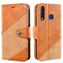 Coque de téléphone Vintage pour Infinix Smart 3 Plus étui portefeuille de luxe rabat couverture magnétique pour Infinix Smart3 Plus X627 étui couleur croisée
