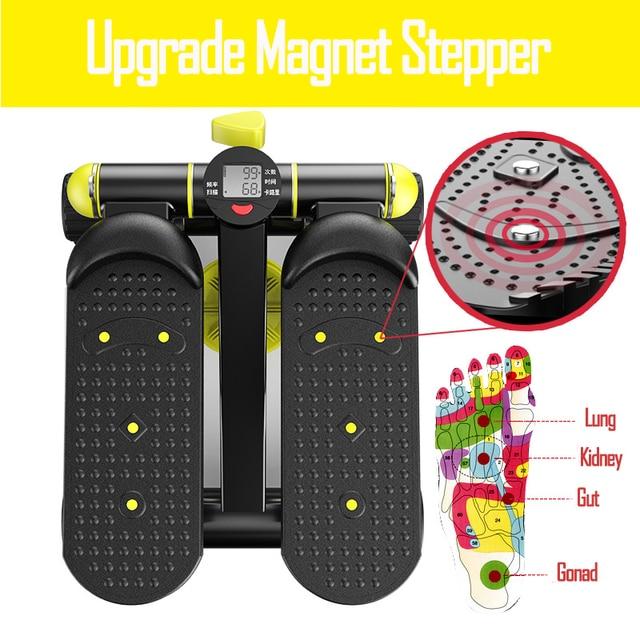 Running machine stepper elliptical trainer Fitness mini aerobic stepper Platform equipment pedal exerciser treadmill 2