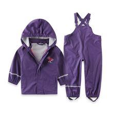Дождевик комплект куртка штаны резиновые девочка непромокайка