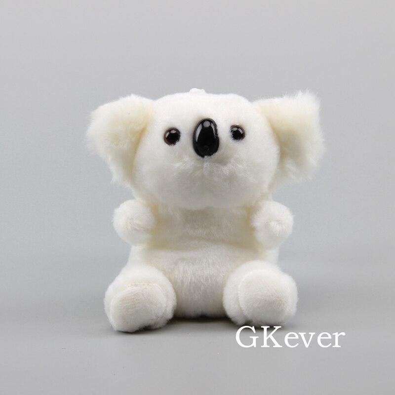 White Koala plush doll toys stuffed animals keychain Children Baby girl Gift Cartoon Anime plush toys Pillow Action Toy Figures