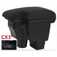 Para mazda2 skyv versão cx3 CX 3 caixa de apoio de braço|Braços| |  -