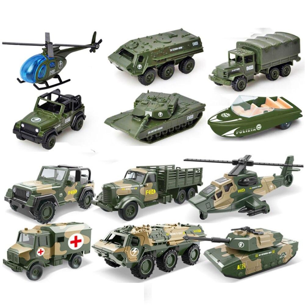 1:72 Тактическая Военная Модель автомобиля из искусственного сплава для катания на лыжах Военный Зеленый танк бронированные автомобили внедорожные модели автомобилей детские игрушки|Игрушечный транспорт|   | АлиЭкспресс