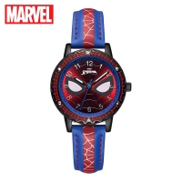 Spider men Child Super Hero Cool Quartz Waterproof Watch Marvel Avengers Student Clock Time Boys Birthday Gift Kids Time Disney