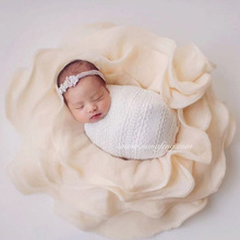цены Baby Photo Blanket Wool Flokati Floral Filling Accessorie Newborn Photography Props Backgrounds For Photo Studio
