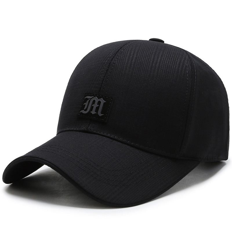 New Man Fitted Hip Hop Hats Male Back Outdoors Sun Hat Summer Cotton Peaked Cap Back Wear Baseball Cap