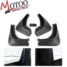 4 pz/set Auto Mud Flaps Paraspruzzi Flap Anteriore Posteriore Parafango Paraspruzzi Guardie Per Tesla Modello 3 Model3 2016 2017 2018 2019