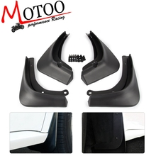 4PCS/SET Car Mud Flaps  Mudflaps Flap Front Rear Mudguard SplashGuard Guards For Tesla Model 3 Model3 2016 2017 2018 2019