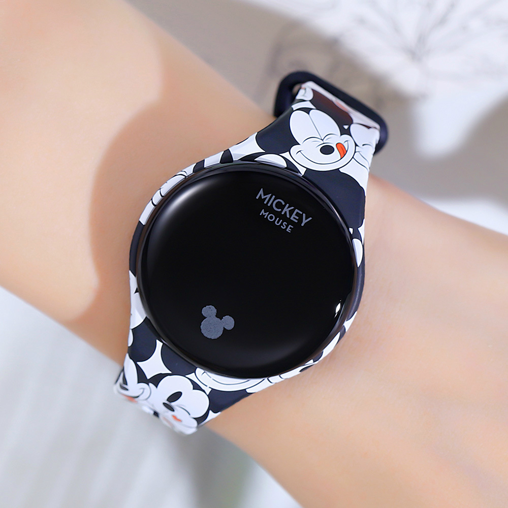 Disney Mickey Mouse Digital Watch Spiderman Kids Watch Frozen Cartoon Student Touch Screen Smart Sport Boys Watches Girl Watch
