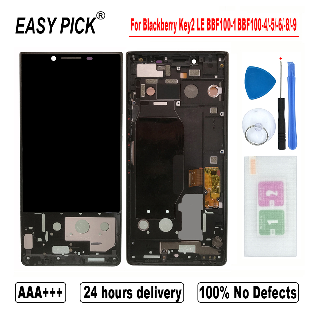 For Blackberry Key 2 / KeyTwo BBF100-2 BBF100-6 -1 -4 -8 -9 LCD Display Touch Screen Digitizer Assembly For Blackberry Key2