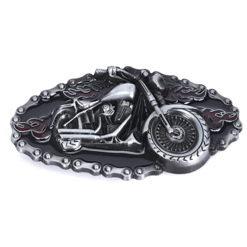 Motorcycle Modelling Cowboy Alloy Belt Buckle Cowboy And Cowgirl Metal Tool Western Buckles Marvel For Belts Of 1.5 Inch Width