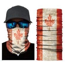 National Flag Magic Scarf Men Balaclava Head Neck Outdoor Sports Headband Warmer Bandanas Face Mask Szaliki I Chusty