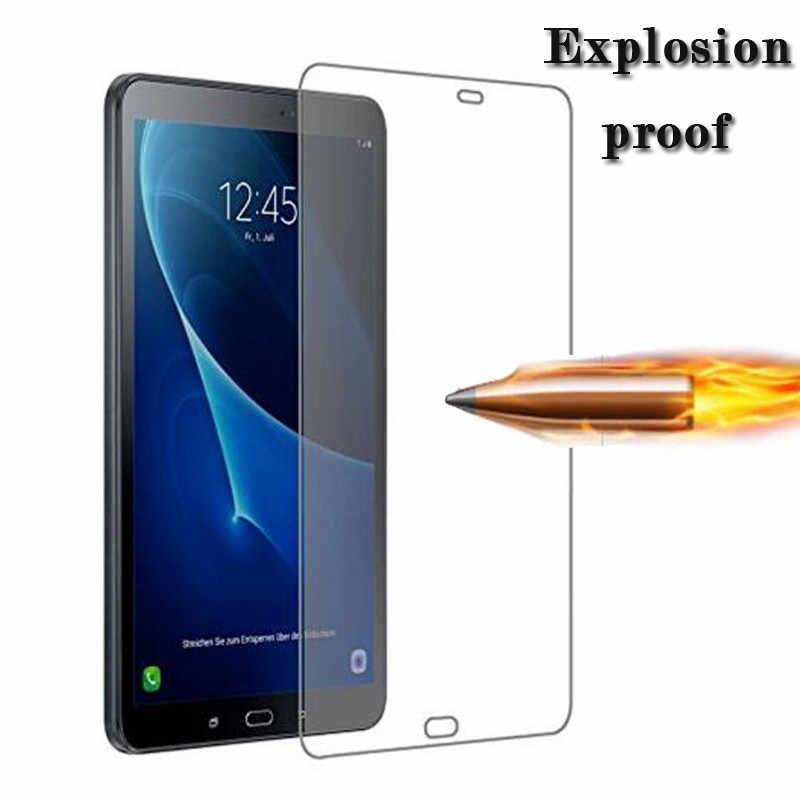 Tempered Glass untuk Samsung Galaxy Tab A 7.0 8.0 10.1 2019 Wifi SM-T510 SM-515 dengan S Pen P580 T280 T285 SM T380 T387 Layar Film